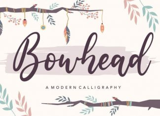 Bowhead Modern Calligraphy Font