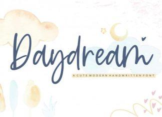 Daydream Modern Handwritten Font