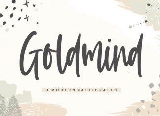 Goldmind Modern Calligraphy Font