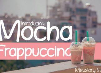 Mocha Frappuccino Free Font