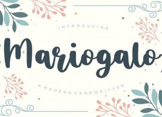 Mariogalo Modern Handwritten Font