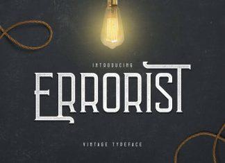 Errorist - Vintage Typeface