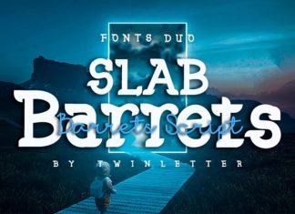 Slab Barrets Font Duo