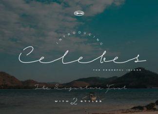Celebes Handwritten Font