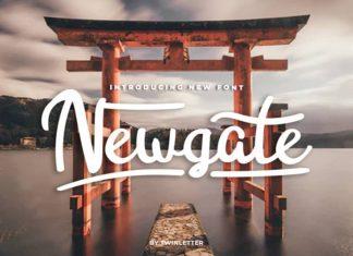 Newgate Script Font