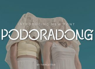 Podoradong Display Font