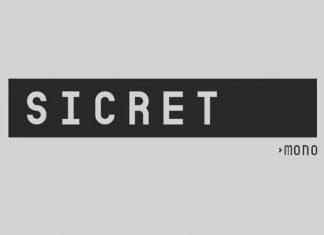 Sicret Mono Sans Serif Font