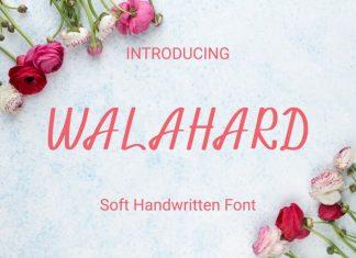 Walahard Script Font