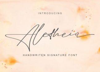 Aletheia Handwritten Font