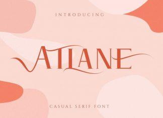 Atlane Serif Font