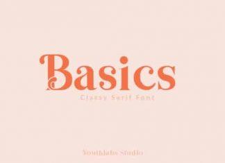 Basics Display Font