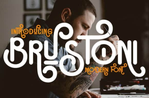 Brustoni Display Font