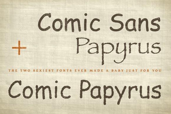 Comic Papyrus Font Finally Befonts Com