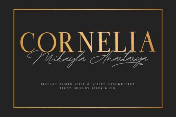 Cornelia Font Duo