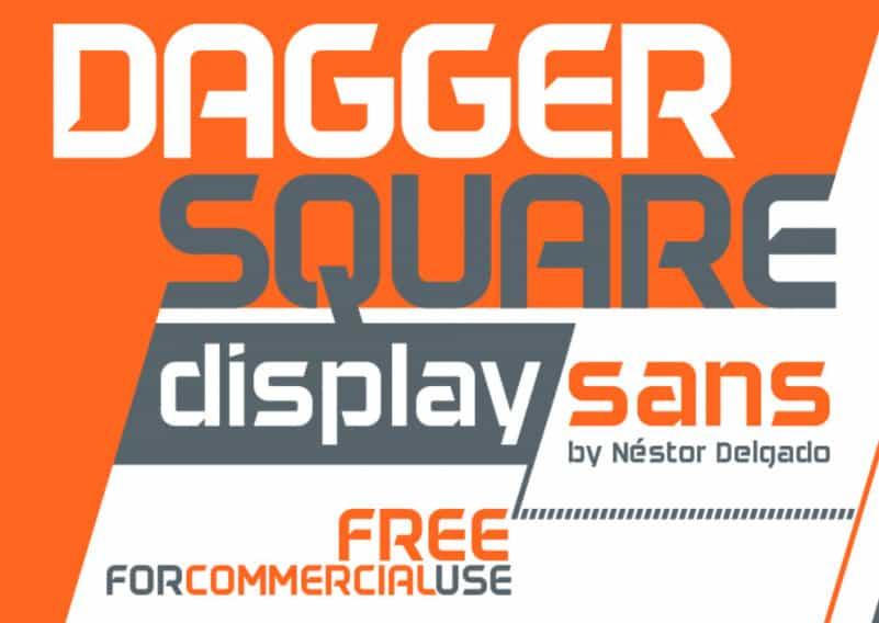 Daggersquare Display Font