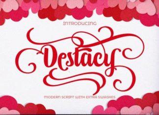 Destacy Script Font