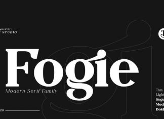Fogie Serif Font Family