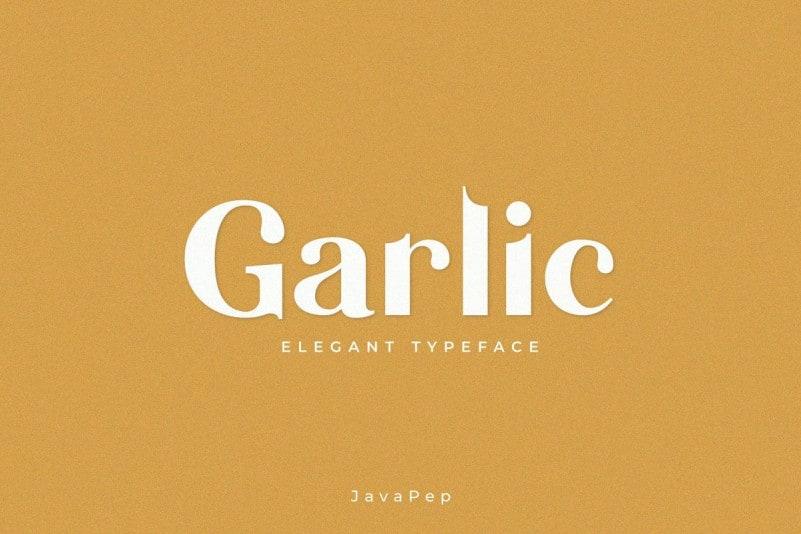 Garlic Elegant Font