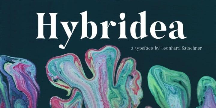 Hybridea Serif Font