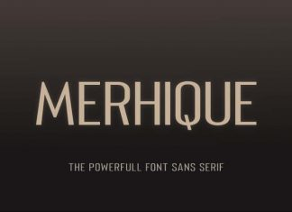 Merhique Font Family