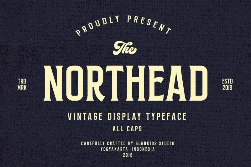 Northead Display Font