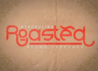 Roasted Display Font