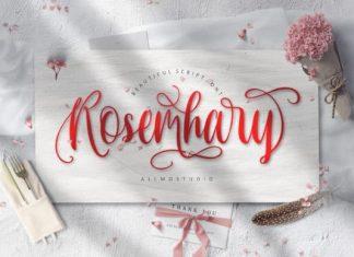 Rosemhary Script Font