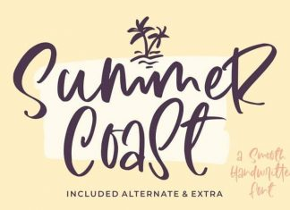 Summer Coast Handwritten Font
