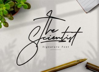 The Scientist Handwritten Font