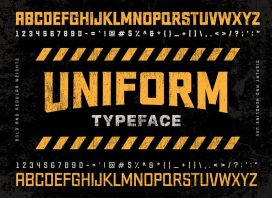 Uniform Typeface