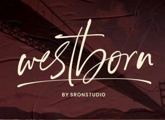 Westborn - Signature Font