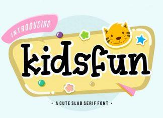 Kidsfun Slab Serif Font
