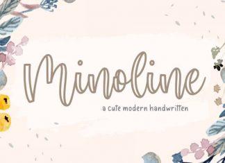 Minoline Cute Modern Calligraphy Font