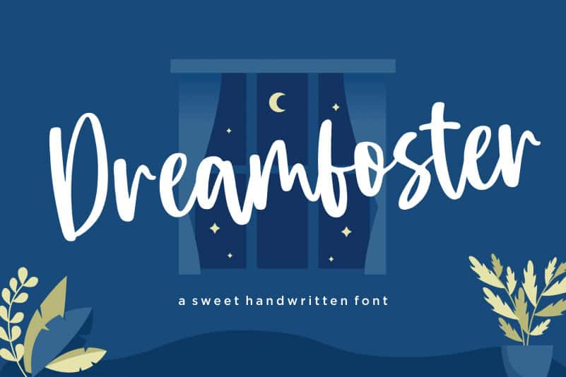 Dreamfoster Sweet Handwritten Font