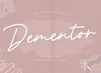 Dementor Handwritten Font