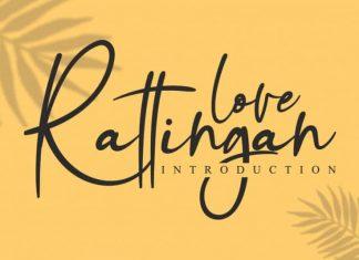 Rattingan Handwritten Font