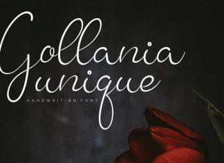 Gollania Handwritten Font