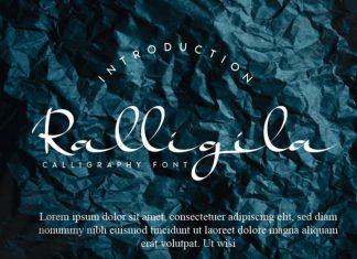 Ralligila Handwritten Font