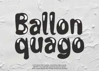 Ballon Quago Display Font