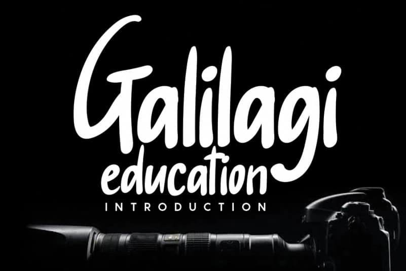 Galilagi Handwritten Font