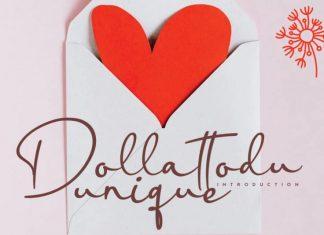 Dollattodu Handwritten Font