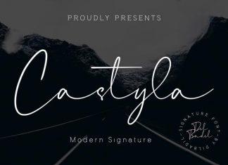 Castyla Signature Font