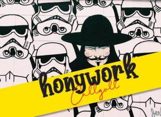 Honywork Handwritten Font