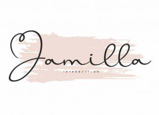 Jamilla Handwritten Font