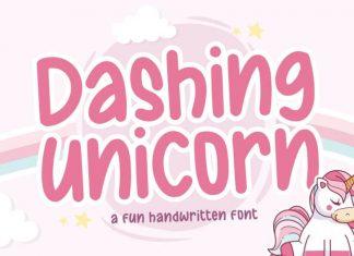 Dashing Unicorn Handwritten Font