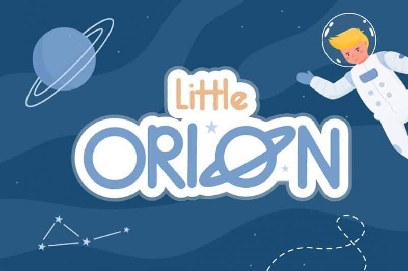 Little Orion Handwritten Font