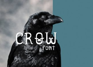 Crow Display Font