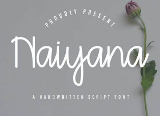 Naiyana Handwriting Font