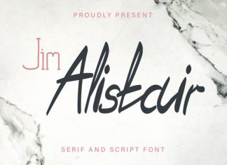 Jim Alistair Font Duo