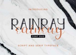 Rainray Font Duo